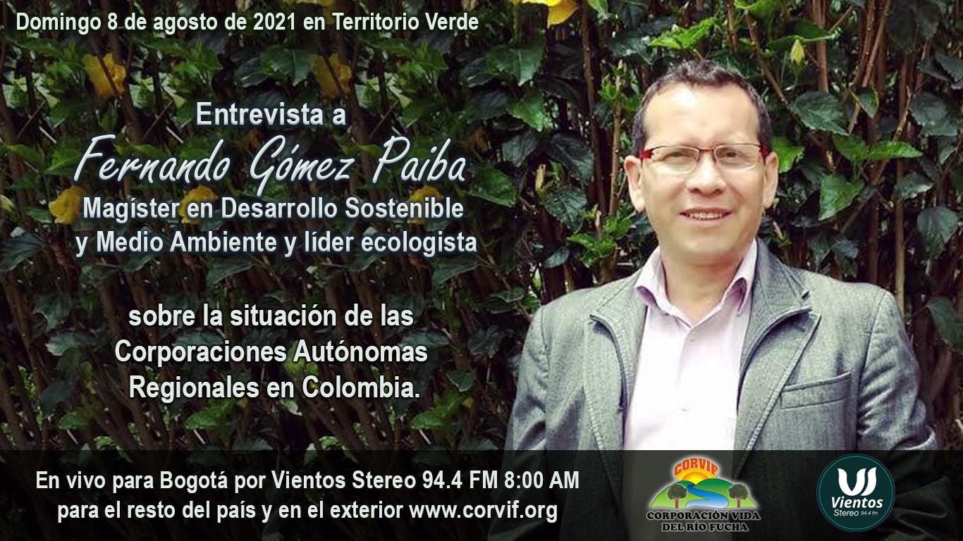Entrevista Fernando Gómez Paiba